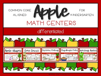 Apple Differentiated Math Centers