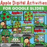 Apple Digital Activities for Google Slides