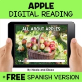 Apple Reading Comprehension for Google Classroom - Distanc
