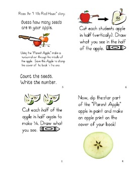 Apple Discovery Book - Johnny Appleseed Activity
