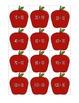 Apple Division File Folder Game (Divide by 10's)