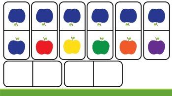 Apple Dominoes