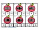 Apple Dominoes to 20 Clip It