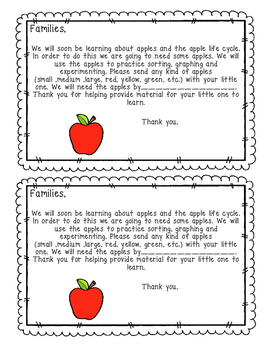 Apple Donations Letter