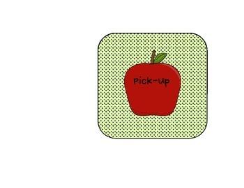 Apple Dot Dismissal Chart
