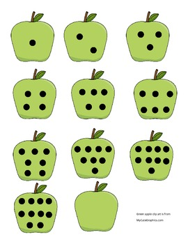 Apple Dot Number Matching