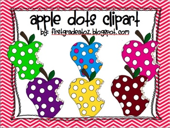 Apple Dots Clipart