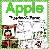 Apple Early Learning Preschool Packet