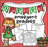 Apple Emergent Readers With Bonus Worksheets!!