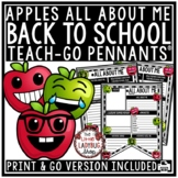 Back to School Bulletin Board: All About Me Poster & Beginning of the Year