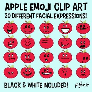 Apple Emoji Clip Art, Facial Expressions, Emotions, Behavior Management