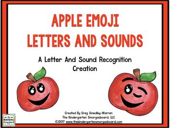 Apple Emoji Letters & Sounds