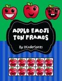 Apple Emoji Ten Frames