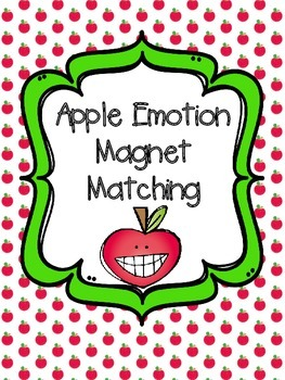 Apple Emotion Magnet Matching