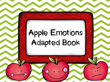 Apple Emotions Adapted Book