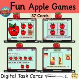 Apple Emotions Picture Matching Patterns Puzzles BOOM Cards™ Games