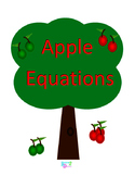 Apple Equations - Addition and Subtraction Foundational Skills