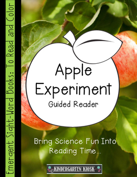 Apple Experiment Guided Reader