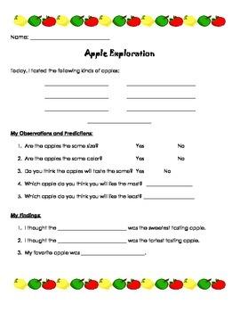 Apple Exploration