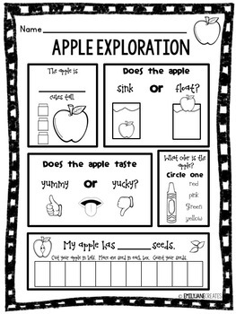 Apple Exploration FREEBIE