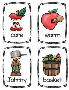 Apple {FREEBIE} Mini Word Book and Practice Pages