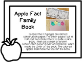 Apple Fact Family Book