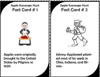 Apple Fact Scavenger Hunt