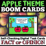 Apple Fact or Opinion BOOM Cards™