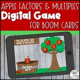 Boom Cards | Factors and Multiples Distance Learning