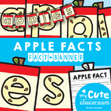 Apple Facts Banner {Bunting, Garland, Pennant Display}