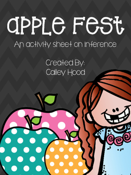 Apple Fest Inference Activity