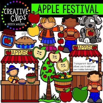 Apple Festival {Creative Clips Digital Clipart}