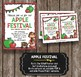 Apple Festival Invitation - EDITABLE - Harvest Celebration - School Poster FALL