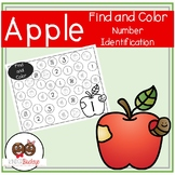 Apple Find and Color-Number Identification