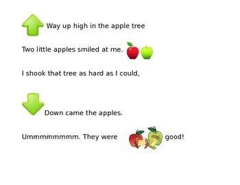 Apple Fingerplay