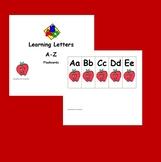 Apple Flashcards ABCs