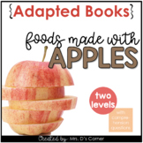 Apple Foods Adapted Book with REAL Pictures [ Level 1 and 2 ]