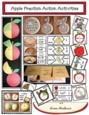 """Fraction Action"" Apple Crafts & Activities For Whole, Half & Quarter Fractions"