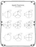 Apple Fractions Worksheet