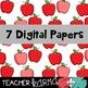 Apple Frames & Digital Papers FREEBIE!