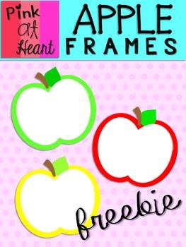 Apple Frames FREEBIE!