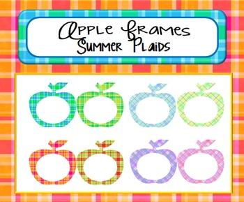 Apple Frames:  Summer Plaids
