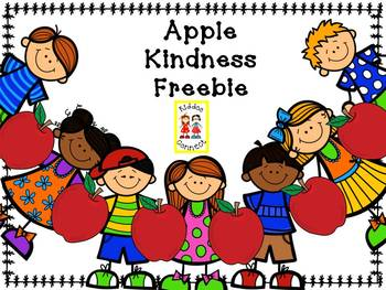 Apple Kindness Freebie