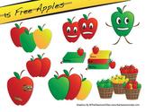 Apple Freebie Clipart Pack