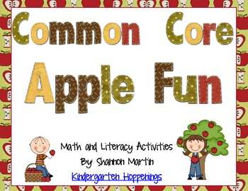 Apple Fun! Common Core Math and Literacy Activities