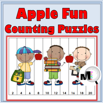Apple Math Number Puzzles