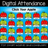 Apple Fun Digital Attendance (Smart Boards and Computers)