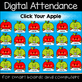 Apple Fun Digital Attendance (Smart Boards and Computers)