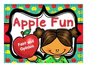 Apple Fun: Fact and Opinion