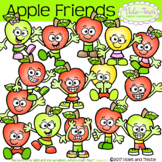 Apple Fun Friends Kids People Emotions Expressions Clipart